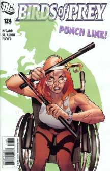 She regained her ability to fight back when she smashed Joker's teeth in in BOP #124